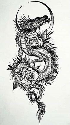 654 Best Dragon Tattoos images in 2020   tattoos, dragon tattoo .