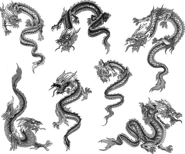 OnPoint Tattoos   Small dragon tattoos, Dragon tattoo for women .