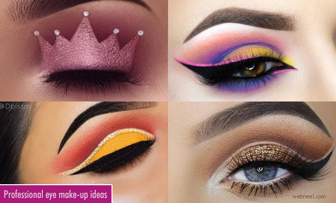 Professional and Glamorous Eye Makeup ideas for dramatic lo