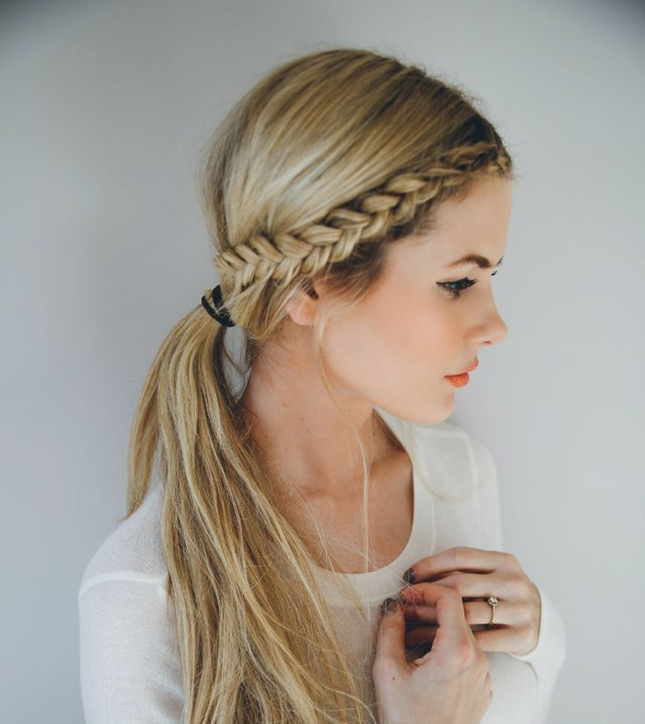 14 Ridiculously Easy 5-Minute Braided Hairstyles   Hair styles .