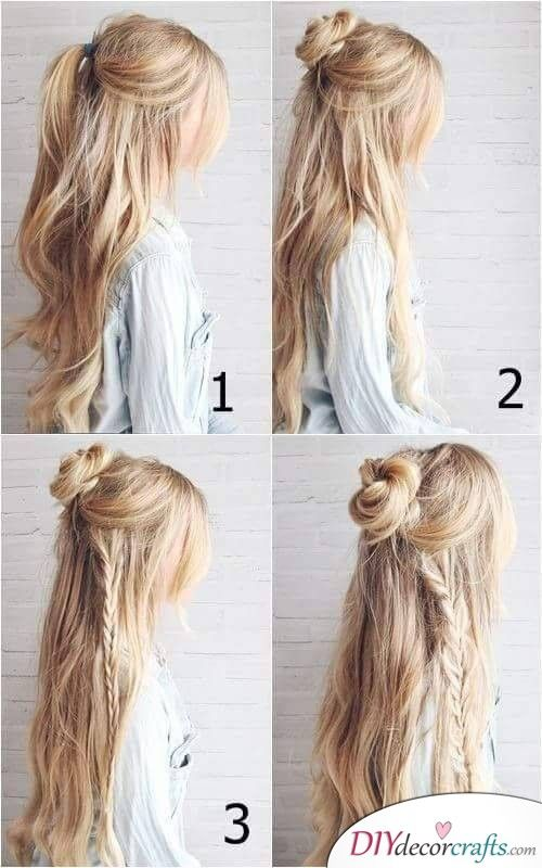 Bohemian or Hippie Style - Easy Braids for Long Hair | Braids for .