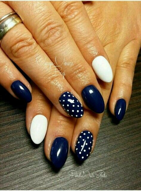 55 Truly Inspiring Easy Dotted Nail Art Designs for Everyday .