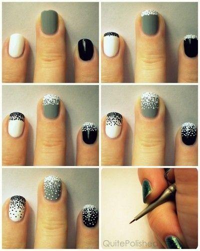 22 Easy Nail Tutorials - Nail Art Tutorials - Pretty Designs .