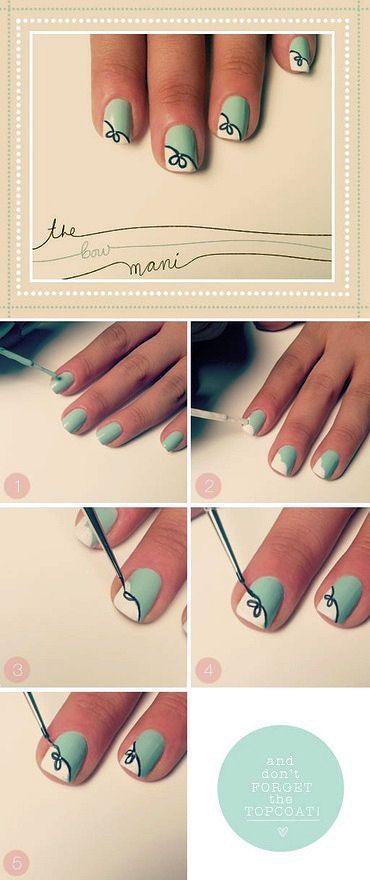 Easy Nail designs for short nails   Nails, Nail art designs diy .