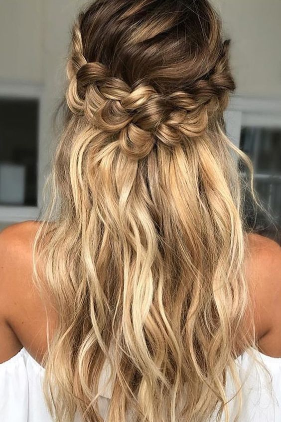 10 Easy Prom Hairstyles for Long Hair and Short Hair Elegant Ideas .