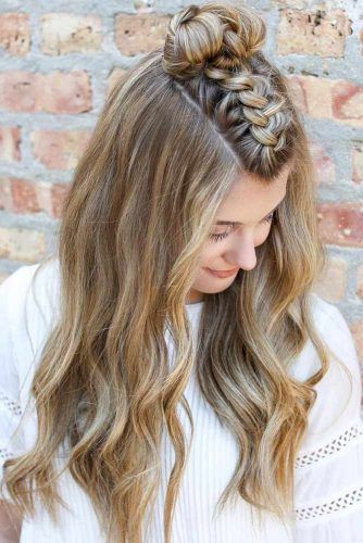 51 Easy Summer Hairstyles To Do Yourself | Medium hair styles .