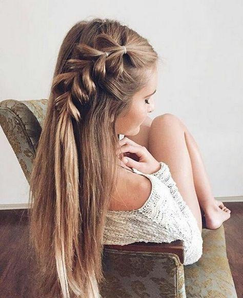 100+ Cute Easy Summer Hairstyles For Long Hair | Long hair styles .