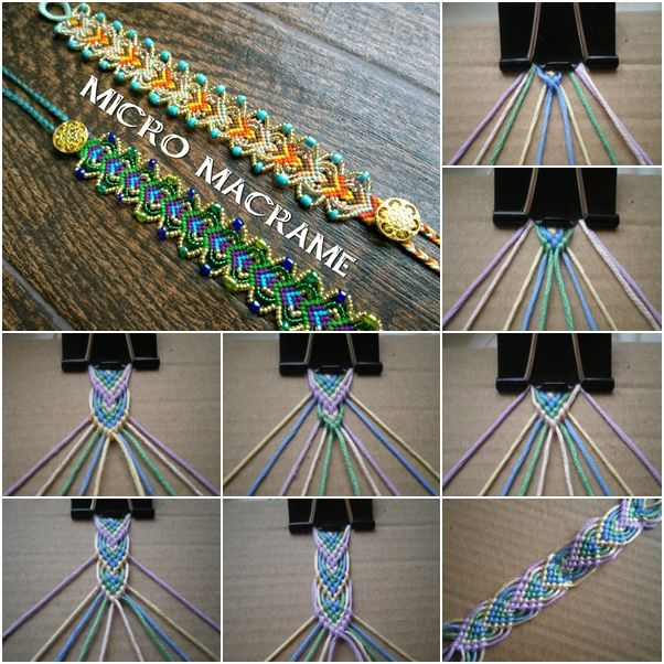 DIY Macrame Leaf Friendship Bracelets (Video) (Video)   Macrame .