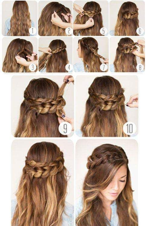 55 Easy Updos to Look Effortlessly Chic | Hair updos tutorials .