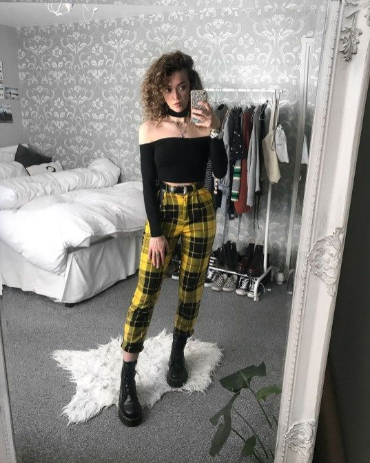 Grunge Outfit Ideas For This Springstyle15 | Fashion, Cute outfits .