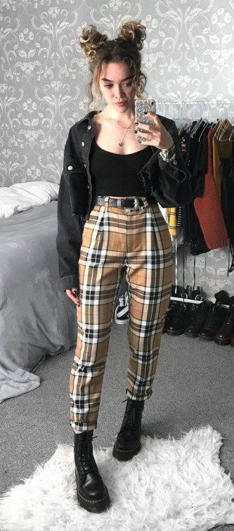 Grunge Outfit Ideas For This Springstyle10 | Fashion inspo outfits .