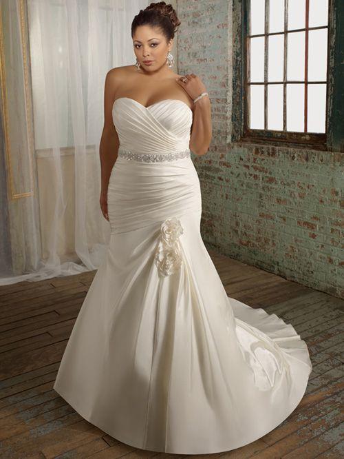Elegant Plus Size Wedding Dress PS164   Plus size wedding gowns .