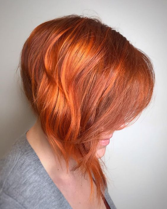 55+ Funky Fall Hair Colors Every Woman Would Fall F