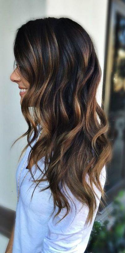 45 Amazing Summer Haarfarben für Brünette 2019 #brunettes .