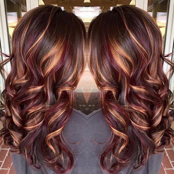 Fall Hair Color Ideas | Long brunette hair, Hair styles, Hair .
