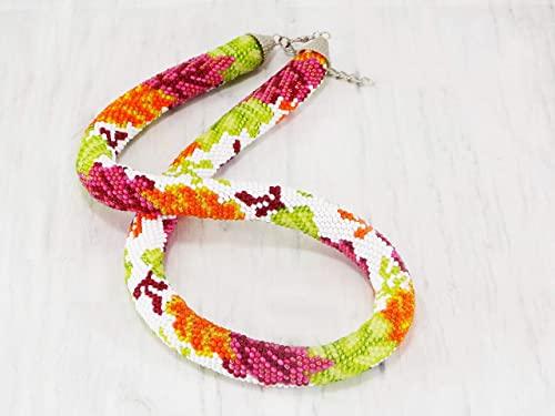 Amazon.com: Handmade Harvest fall inspired leaf design necklace .