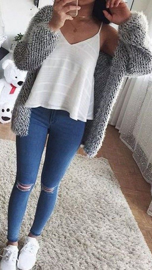 15 Back to school outfits for high school cute outfits fall .