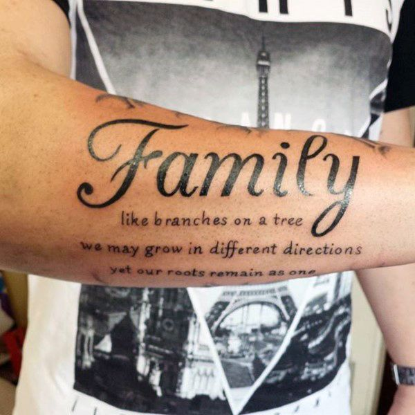 Top 71 Family Tattoo Ideas [2020 Inspiration Guide] | Family .
