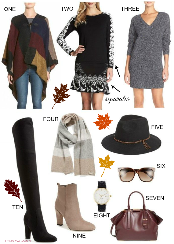 The Classy Woman ®: Thanksgiving Outfit Ideas: All Looks on Sal
