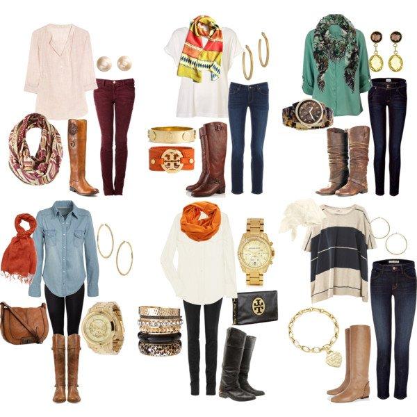 Pretty Casual Outfit Ideas for Fall & School Days - Pretty Desig