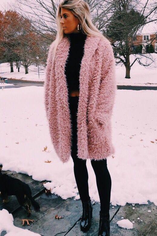 Warm Cozy Fall Winter Teddy Bear Coat Jackets Outfits | Casual .