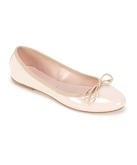 Summit by White Mountain Nude Kendall Leather Ballet Flat - Women .