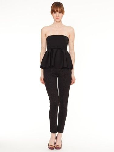 PATRINA STRAPLESS TOP from RAOUL. Ultra feminine and figure .