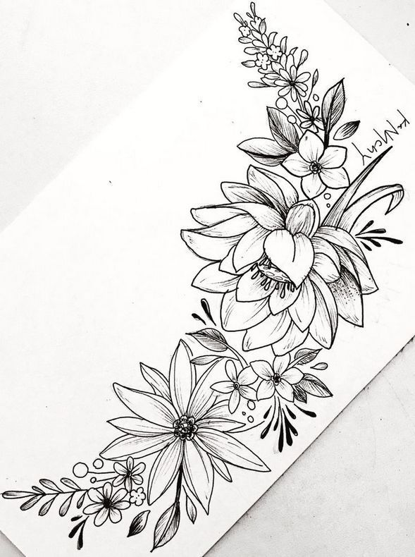 Fashion Archives | Wagepon Ideas | Flower tattoo drawings .