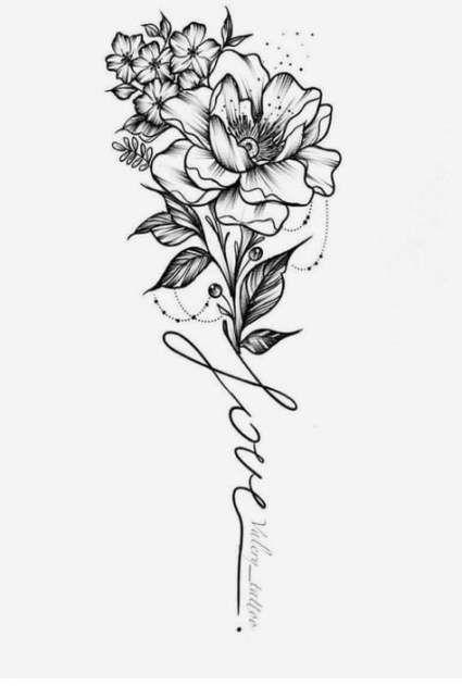 21+ Trendy Ideen für Tattoo Sleeve Ideen für Frauen Flowers Style .