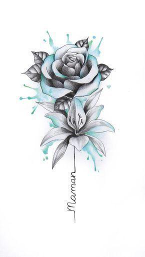 19 besten Blumen-Tattoos-Ideen Monica Gill #besten .
