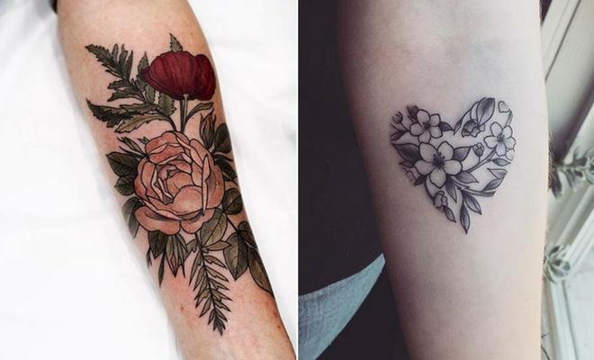 23 Beautiful Flower Tattoo Ideas for Women | StayGl
