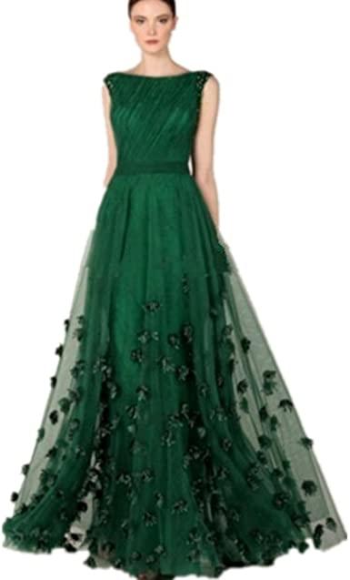 Amazon.com: Formaldresses Emerald Green Prom Dress Formal Evening .