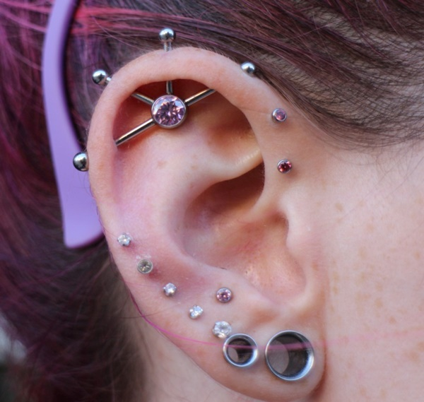 90+ Classical and Wackier Industrial Piercing Ide