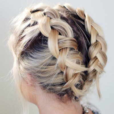 19 Cute Braids For Short Hair You Will Love - Page 2 of 2 - Be .