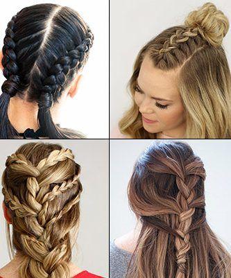 30 French Braids Hairstyl | French braid hairstyles, Braided .