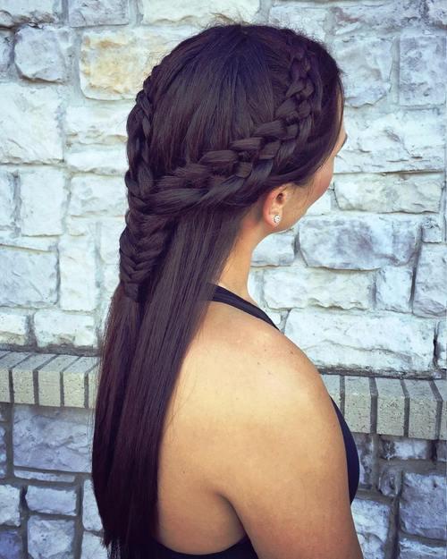 30 Elegant French Braid Hairstyl