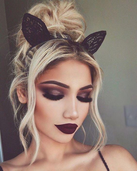 Stunning Feminine Halloween Makeup Ideas - Wonder Forest | Dark .