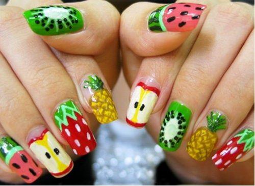 Nail Design Ideas | Fruit nail art, Fruit nail designs, Cute nail .