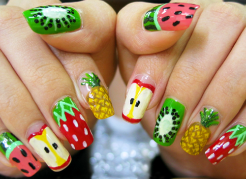 The Mom 100 Cookbook by Katie Workman | Fruit nail art, Fruit nail .