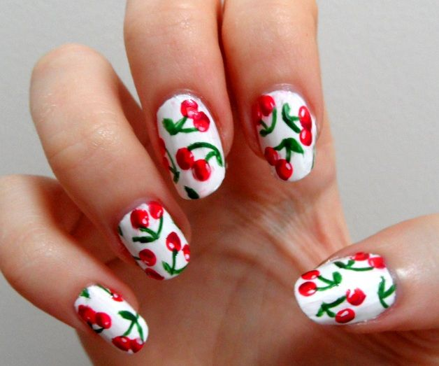 16 Fruit Nail Art Designs for Summer - Pretty Designs | Fruit nail .