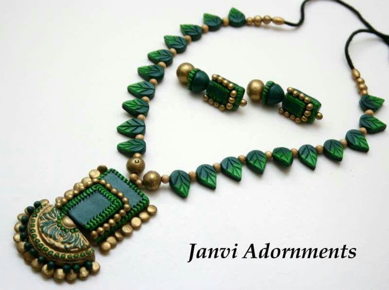 Pin by Jaya Gowda on Terracotta jewellery designs   Terracota .