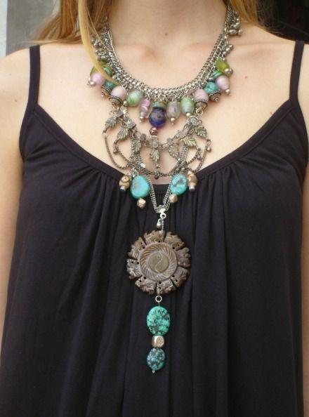 Funky Jewellery Designs   Funky necklace, Funky jewelry, Vintage .