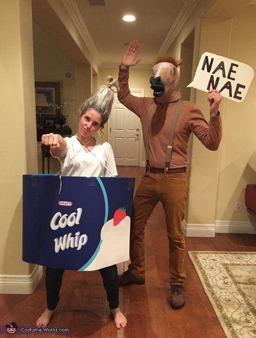 Funny couples costume idea: Whip and Nae Nae | Costume Works .
