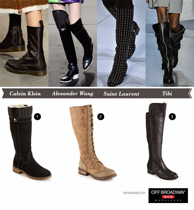 Glam Coalition: 3 Tall-Boot Looks to Add to Your Winter Wardrobe .