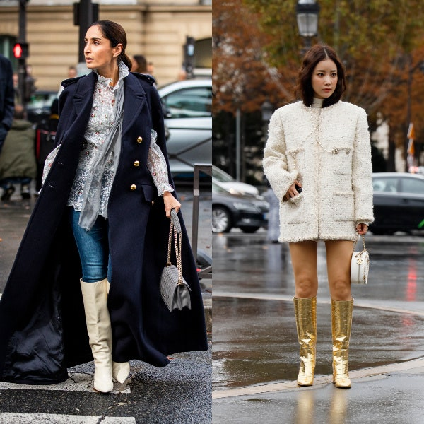 Every Fashion Girl Is Wearing Knee-High Boots Right Now   Glamo