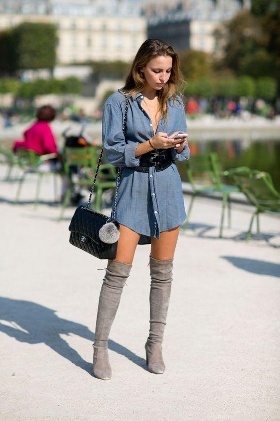 How to Wear Summer Dresses in Autumn – Glam Radar   High knee .