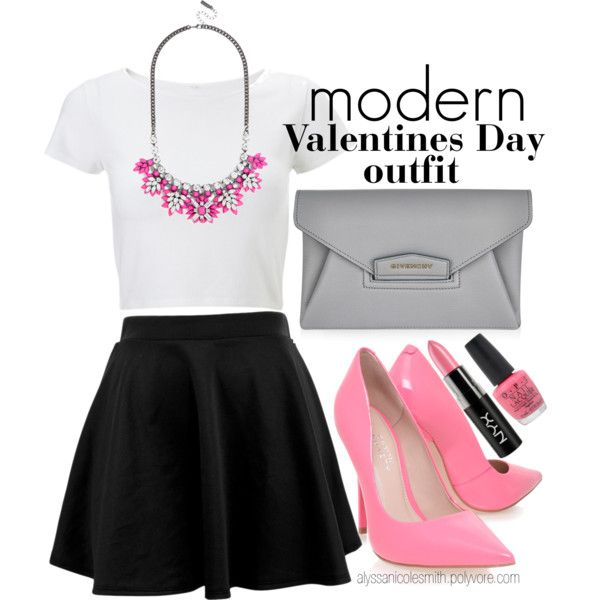 Glam Valentines Day Outfit 04 | Valentine's day outfit, Pretty .