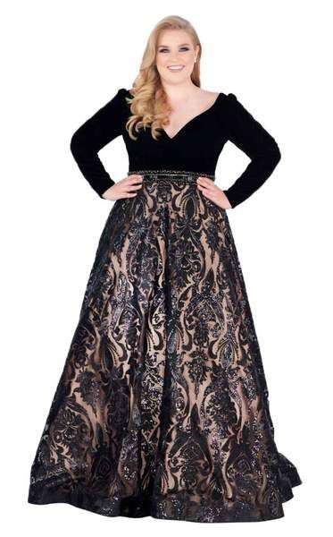 Mac Duggal Fabulouss 67614F Dress   Plus size formal dresses, Plus .