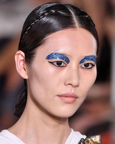 Glitter Make-Up Ideas - 21 Glitter Make-Up Looks Sparklier Than A .