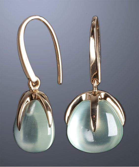 50 Graceful Drop Earrings Designs to Hog the Limelight | Jewelry .